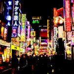 歌舞伎町 夜景ネオン3
