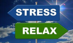 ストレス 矢印
